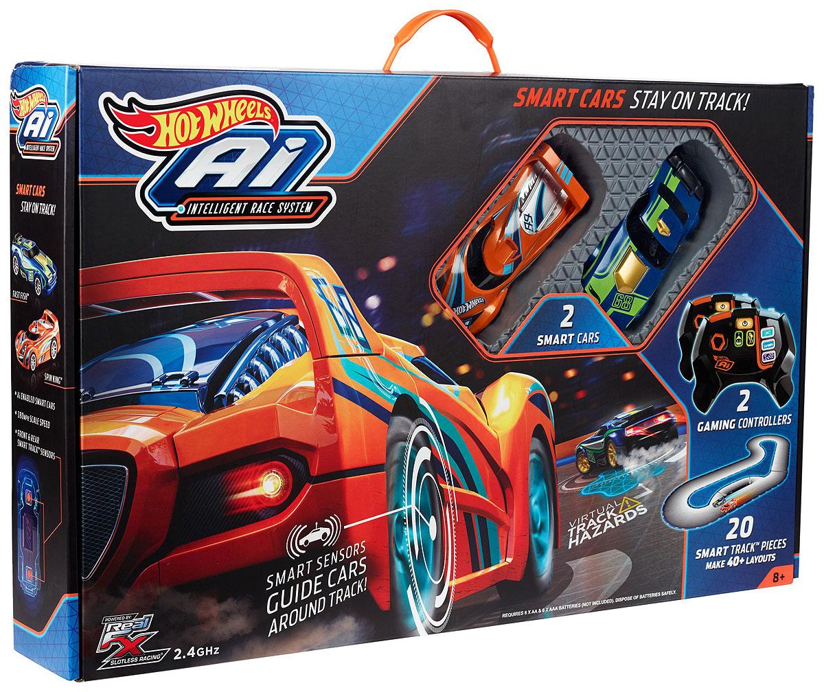 Hot Wheels Игрушечный трек Умная трасса автотрек hot wheels гоночная трасса рикошет fdf27