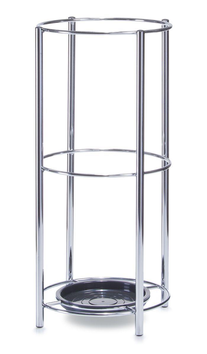 Подставка для зонтов Zeller, высота 48 см. 1047010470Подставка Zeller, изготовленная из металла, предназначена для хранения зонтов.Оригинальный дизайн изделия идеально впишется в интерьер любой прихожей. Подставка компактная и не занимает много места.Подставка для зонтов - это не только способ организовать пространство, но и идеальный элемент декора.