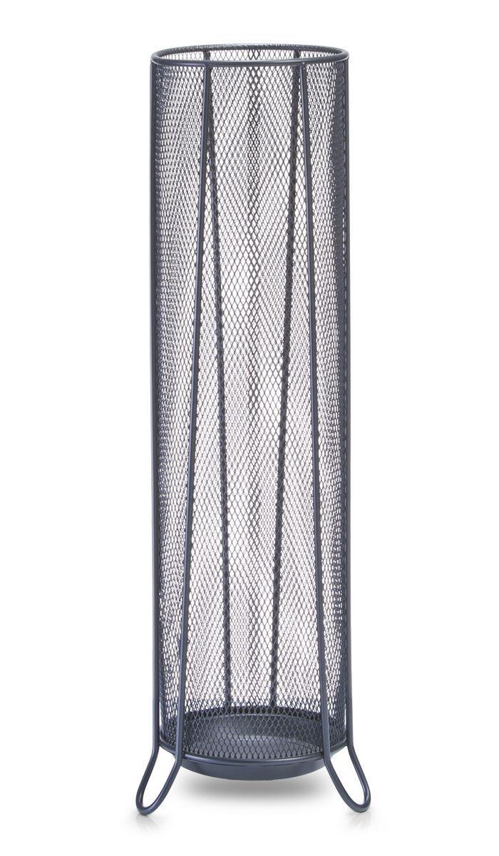Подставка для зонтов Zeller, высота 53 см17744Подставка Zeller, изготовленная из металла, предназначена для хранения зонтов. Оригинальный дизайн изделия идеально впишется в интерьер любой прихожей. Подставка компактная и не занимает много места. Подставка для зонтов - это не только способ организовать пространство, но и идеальный элемент декора.Диаметр подставки: 14 см. Высота подставки: 53 см.