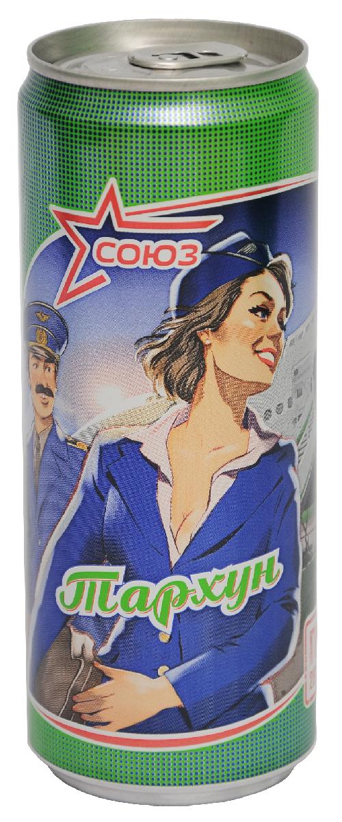 Союз Тархун Напиток безалкогольный сильногазированный, 0,33 л fanta цитрус напиток сильногазированный 1 5 л