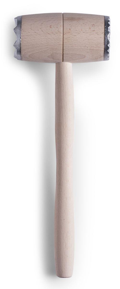 Молоток для мяса Zeller, длина 30 см23508Молоток для мяса Zeller, выполненный из высококачественнойдревесины и металла, поможет вам без труда отбить мясо и приготовить его мягким, сочным и вкусным. Удобная ручка предотвращает выскальзывание молотка из рук. С боковых сторон отбивающая часть молотка имеет зубчатую поверхность.Молоток не впитывает запахи и легко моется.Молоток для мяса Zeller станет вашим незаменимым помощником на кухне, а также это практичный и необходимый подарок любой хозяйке!Длина молотка: 30 см.