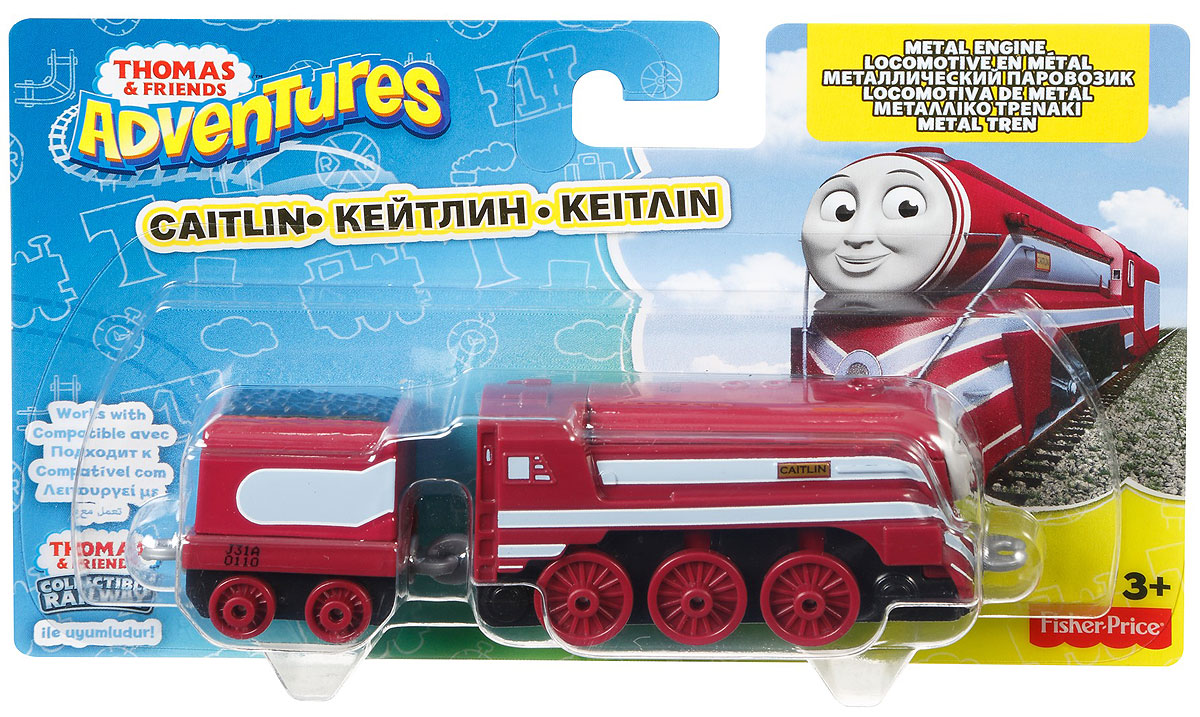 Thomas & Friends Паровозик Кейтлин