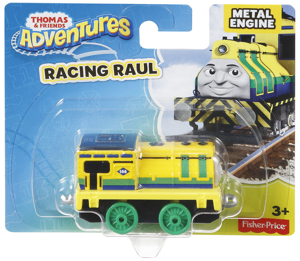 Thomas & Friends Паровозик Рауль