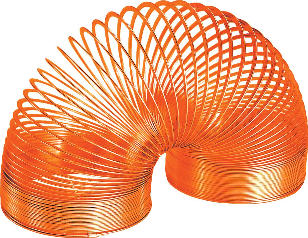 Slinky Игрушка-пружинка металлическая цвет оранжевый - Развлекательные игрушки