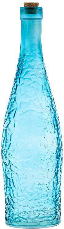 Бутылка для масла и уксуса Elan Gallery, цвет: бирюзовый, 700 мл300030Стильная бутылка для жидкостей. Подойдет для хранения масел, соусов или уксуса. Эффектно впишется в любой интерьер. Размер 8 х 8 х 30 см. Объем 700 мл.