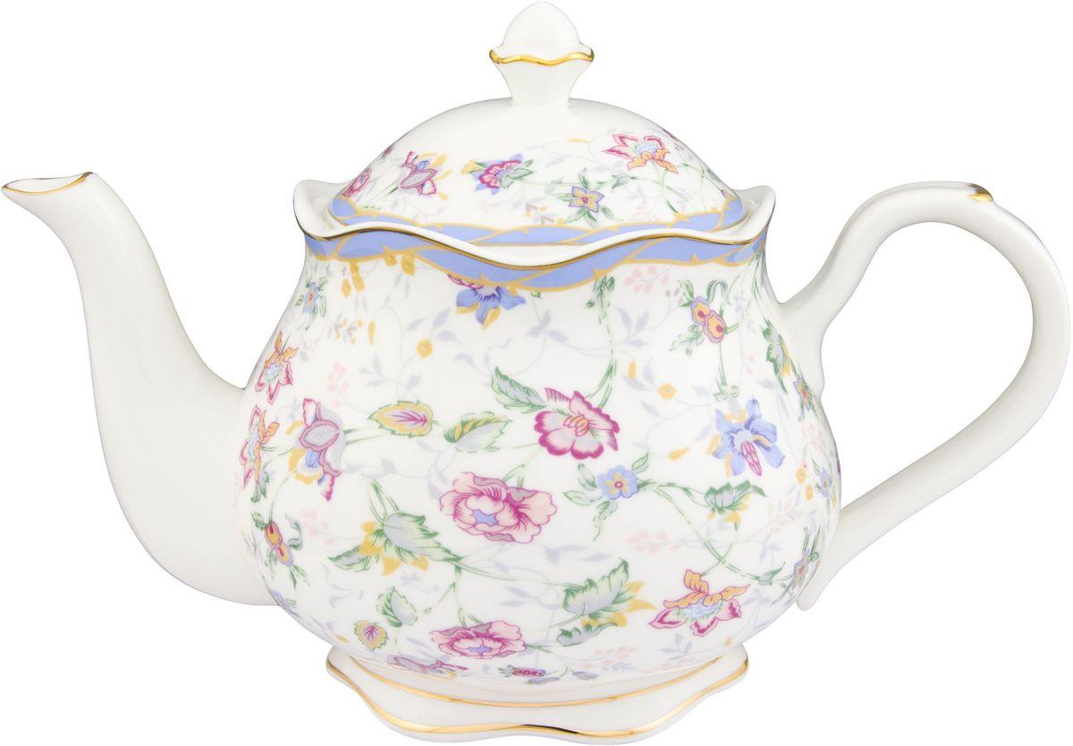 Чайник заварочный Elan Gallery Цветочный каприз, 1,1 л530052Изящный вместительный чайник с удобной ручкой и широким носиком. В основании носика сделаны фильтрующие отверстия от попадания чаинок в чашку. Модель сделана из сырья отличного качества приятного цвета. Такой чайник станет замечательной покупкой или презентом коллеге. Изделие имеет подарочную упаковку.Объем чайника: 1,1 л.Размер чайника: 23,5 х 13,5 х 15 см.