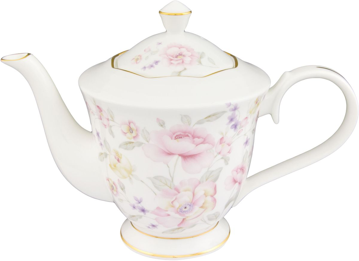 Чайник заварочный Elan Gallery Жизель, 1 л530063Изящный вместительный чайник с удобной ручкой и широким носиком. В основании носика сделаны фильтрующие отверстия от попадания чаинок в чашку. Модель сделана из сырья отличного качества приятного цвета. Такой чайник станет замечательной покупкой или презентом коллеге. Объем чайника: 1 л.Размер чайника: 24,5 х 13 х 17 см.