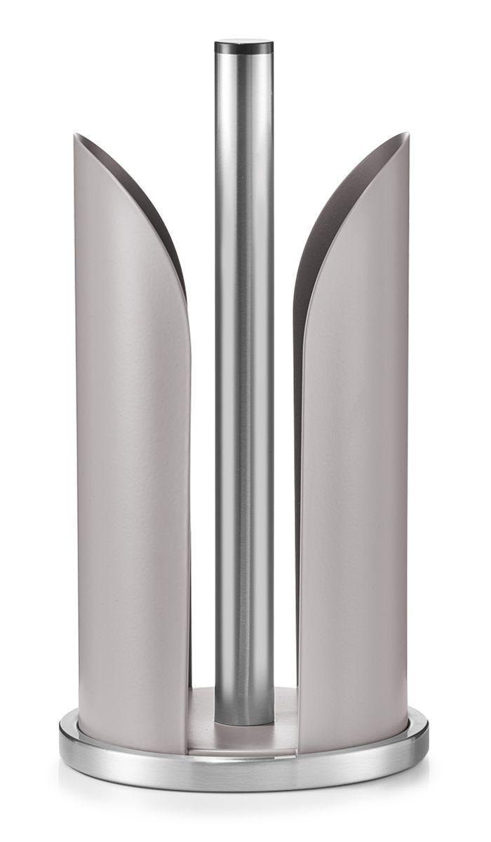 Держатель для бумажных полотенец Zeller, цвет: серо-коричневый, стальной, высота 30,5 см27216Держатель для бумажных полотенец Zeller изготовлен из высококачественного металла. Круглое основание держателя гарантирует устойчивость. Рулоны накладываются сверху. Вы можете установить его в любом удобном месте. Такой держатель станет полезным аксессуаром в домашнем быту и идеально впишется в интерьер современной кухни. Рулон в комплект не входит.Высота держателя: 30,5 см.Диаметр основания: 15 см.