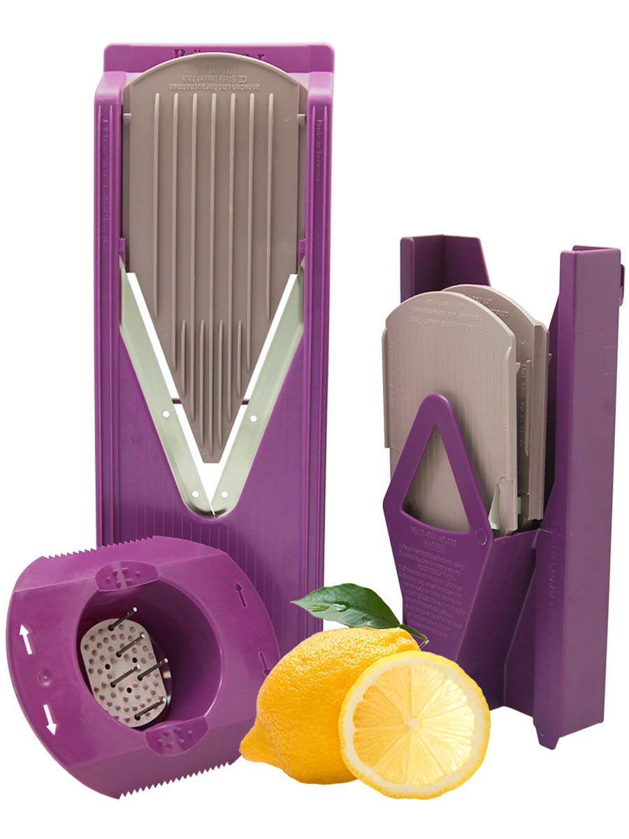 Овощерезка Borner Trend Плюс, цвет: сиреневый, 6 предметов borner набор классика orange