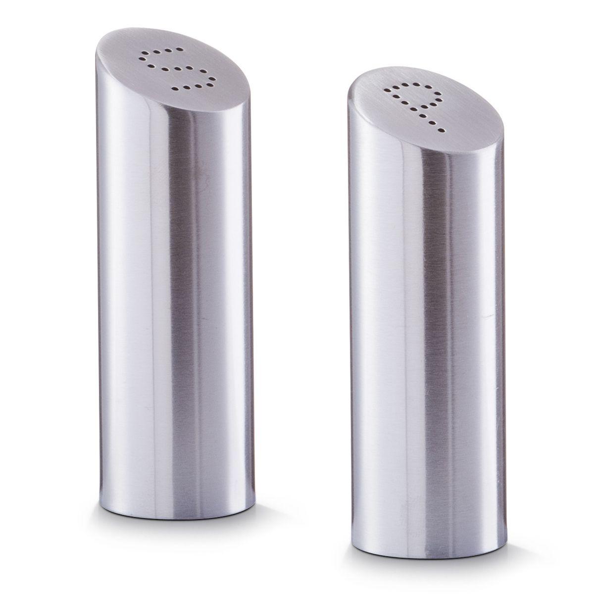 Набор для специй Zeller, высота 11,5 см, 2 предмета27341Набор Zeller, состоящий из двух емкостей, станет незаменимым аксессуаром на любой кухне. Набор предназначен для компактного хранений специй, что позволяет экономить место на полке. Изделия выполнены из металла. Верх изделий имеет отверстия. Размер емкостей: 3,8 х 3,8 х 11,5 см.