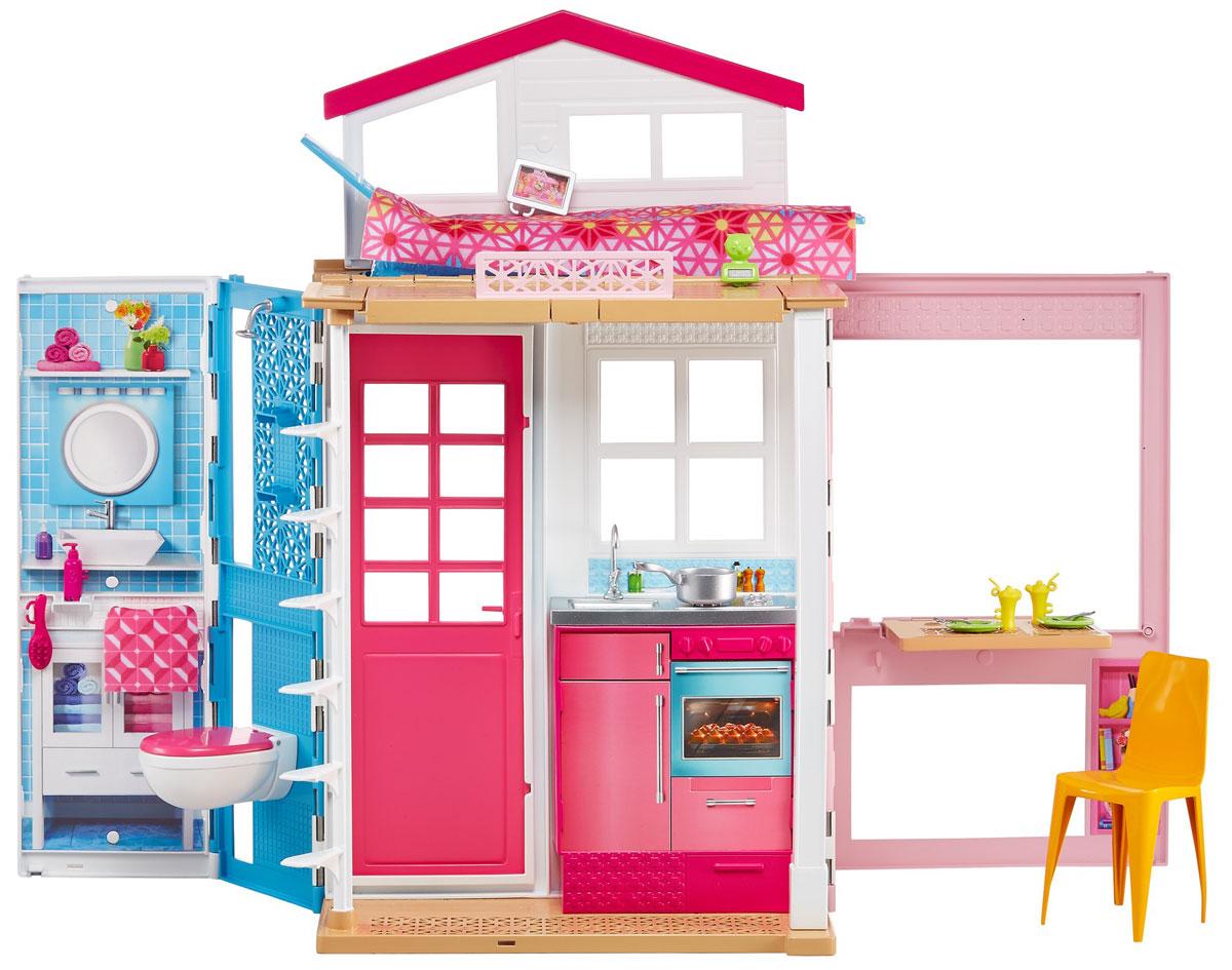 Barbie Двухэтажный домик для куклы кукольный домик лего 10505 купить