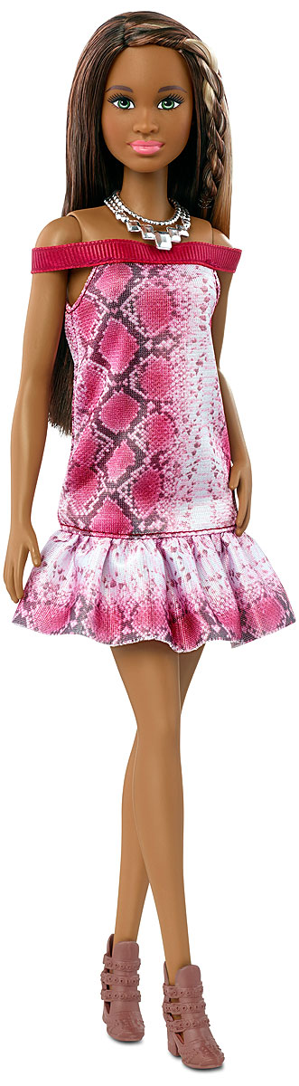 Barbie Кукла Fashionistas Необыкновенный узор barbie коллекционная кукла natalia vodianova