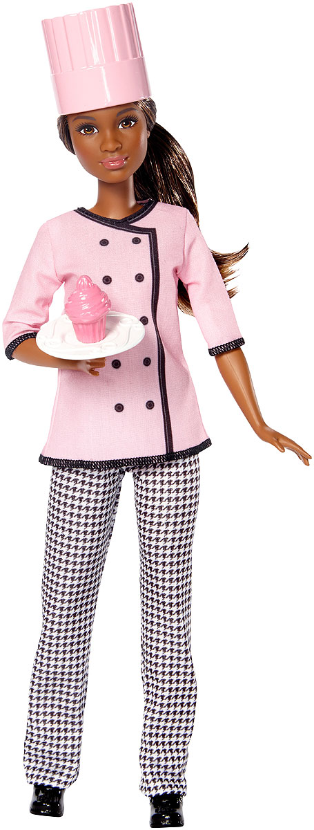 Barbie Кукла Кондитер учебник кондитер