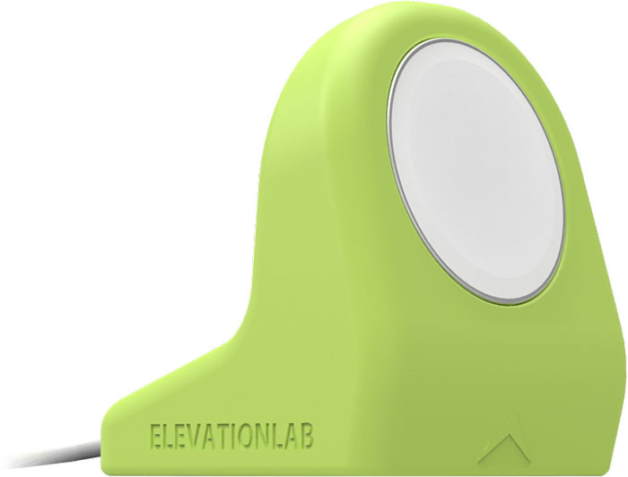 Elevation Lab NightStand, Matte Sport Green док-станция для Apple Watch