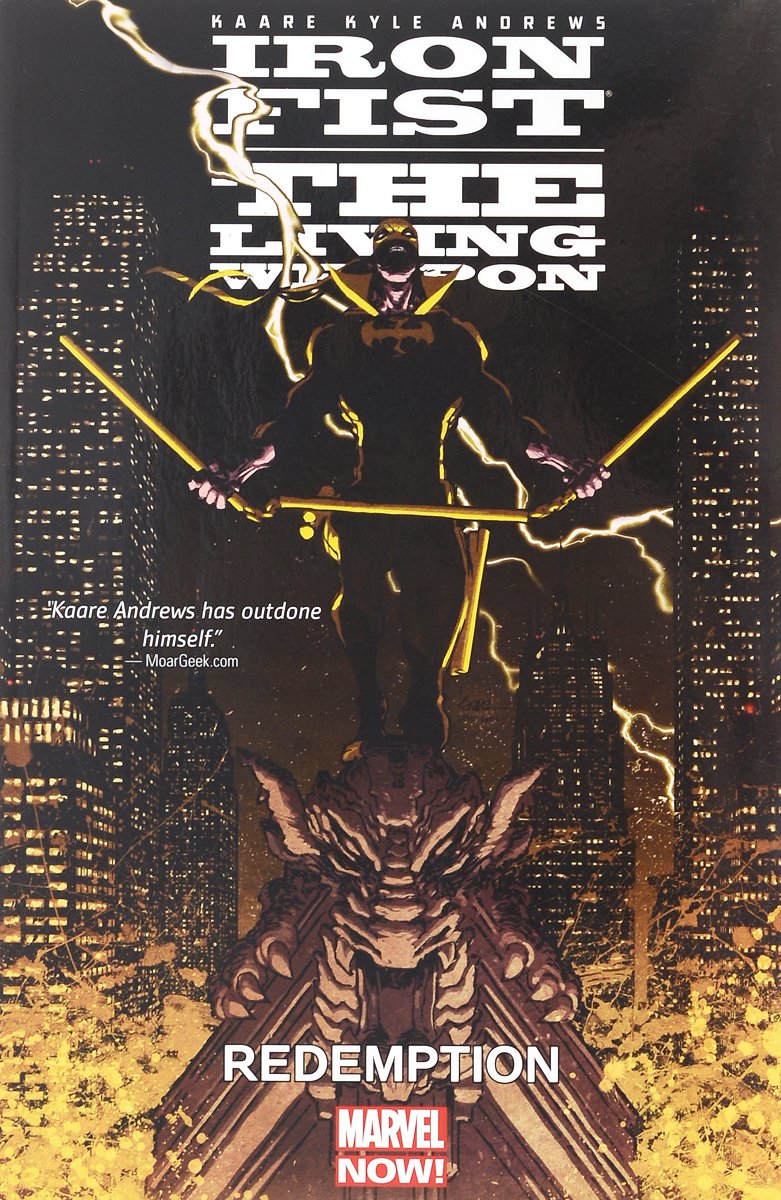 Iron Fist: The Living Weapon: Volume 2: Redemption головка ingersoll rand s64m26l ps1