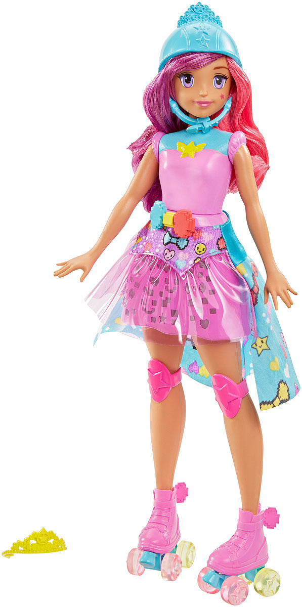Barbie Кукла Виртуальный мир Принцесса куклы