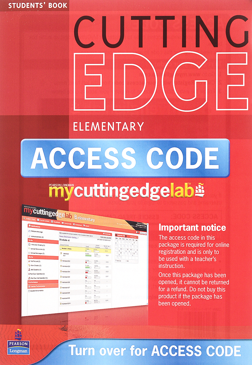 Cutting Edge: Elementary: Student's Book (+ CD) global elementary coursebook with eworkbook pack