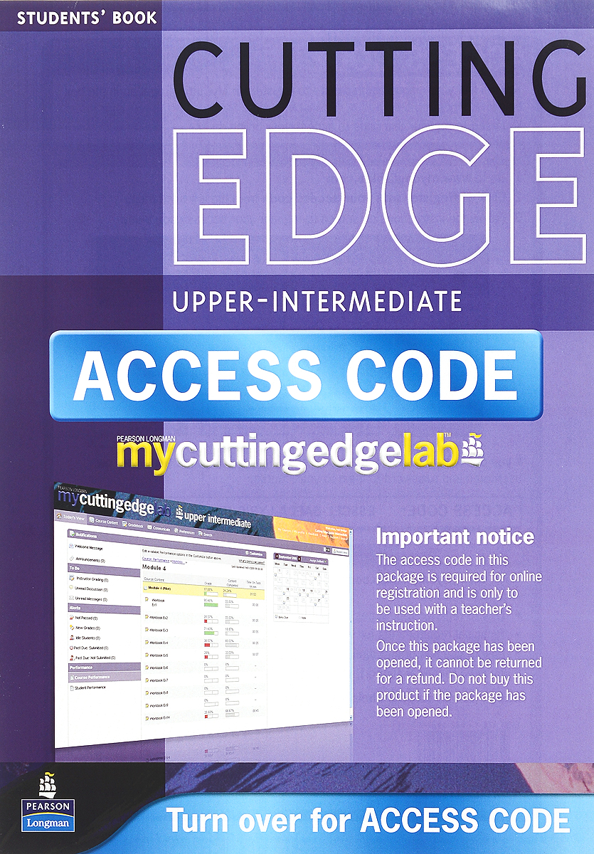 Cutting Edge: Upper Intermediate: Student's Book (+ Mini-Dictionary and CD-ROM)