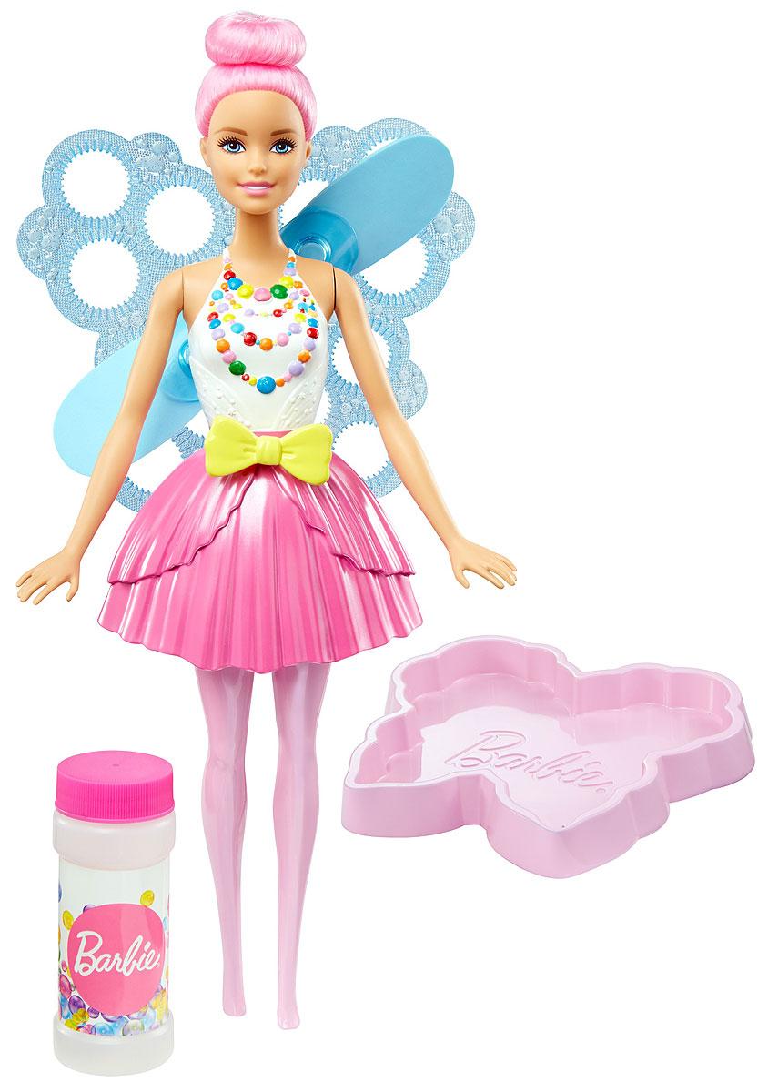 Barbie Кукла Фея Фантастические пузыри цвет волос светло-розовый куклы barbie кукла челси и пони
