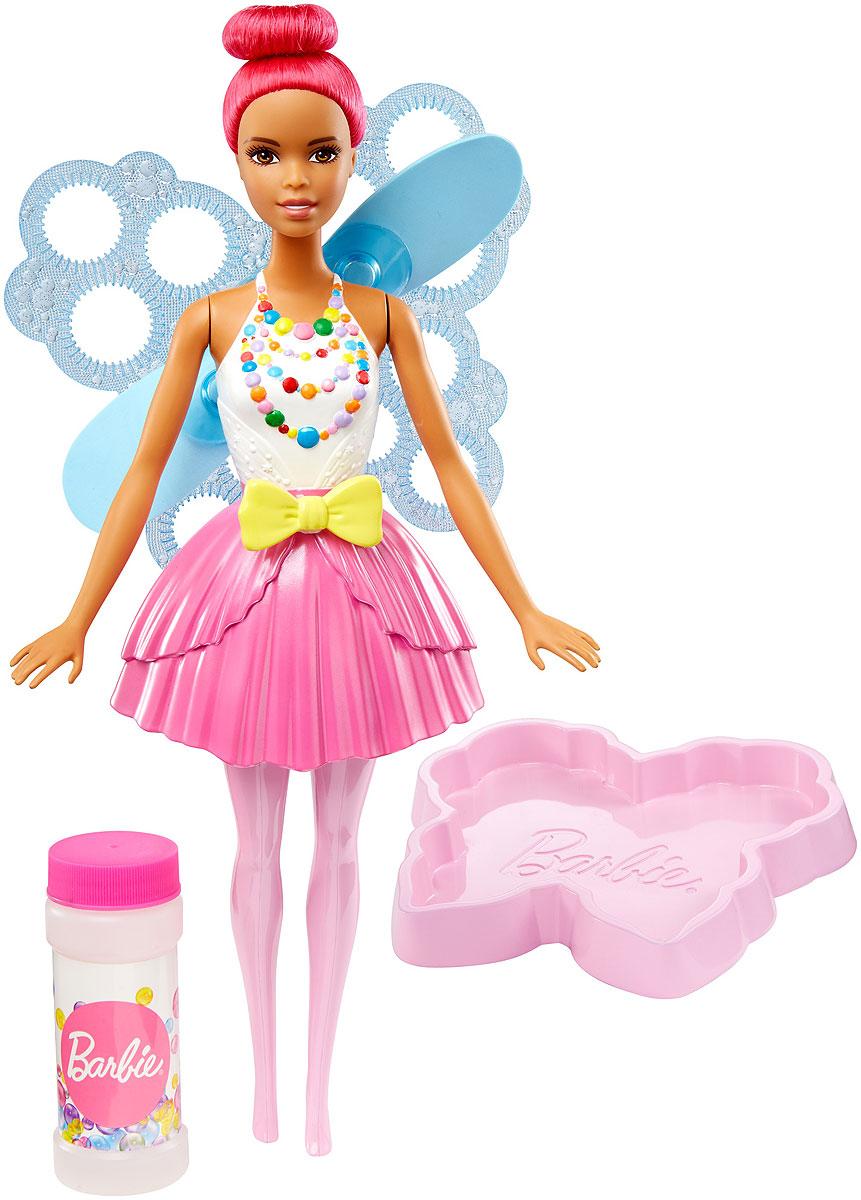 Barbie Кукла Фея Фантастические пузыри цвет волос розовый куклы barbie кукла челси и пони