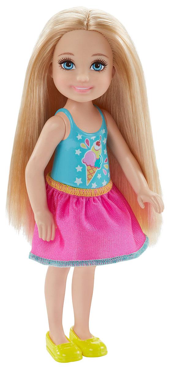 Barbie Мини-кукла Челси с поп корном