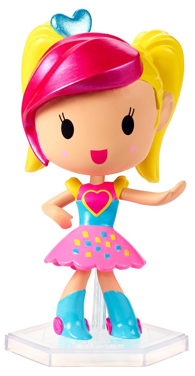 Barbie Мини-кукла Барби Виртуальный мир цвет одежды розовый голубой желтый veld co игровой набор с мини куклой my lovely princess цвет одежды сиреневый розовый голубой
