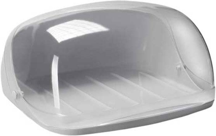 Хлебница Idea, цвет: серый, прозрачный, 36 х 27,5 х 16М 1181Хлебница Idea изготовлена из пищевого пластика и оснащена прозрачной открывающейся крышкой. Вместительность, функциональность и стильный дизайн позволят хлебнице стать не только незаменимым предметом на кухне, но и стать дополнением интерьера. Хлебница сохранит хлеб свежим и вкусным.