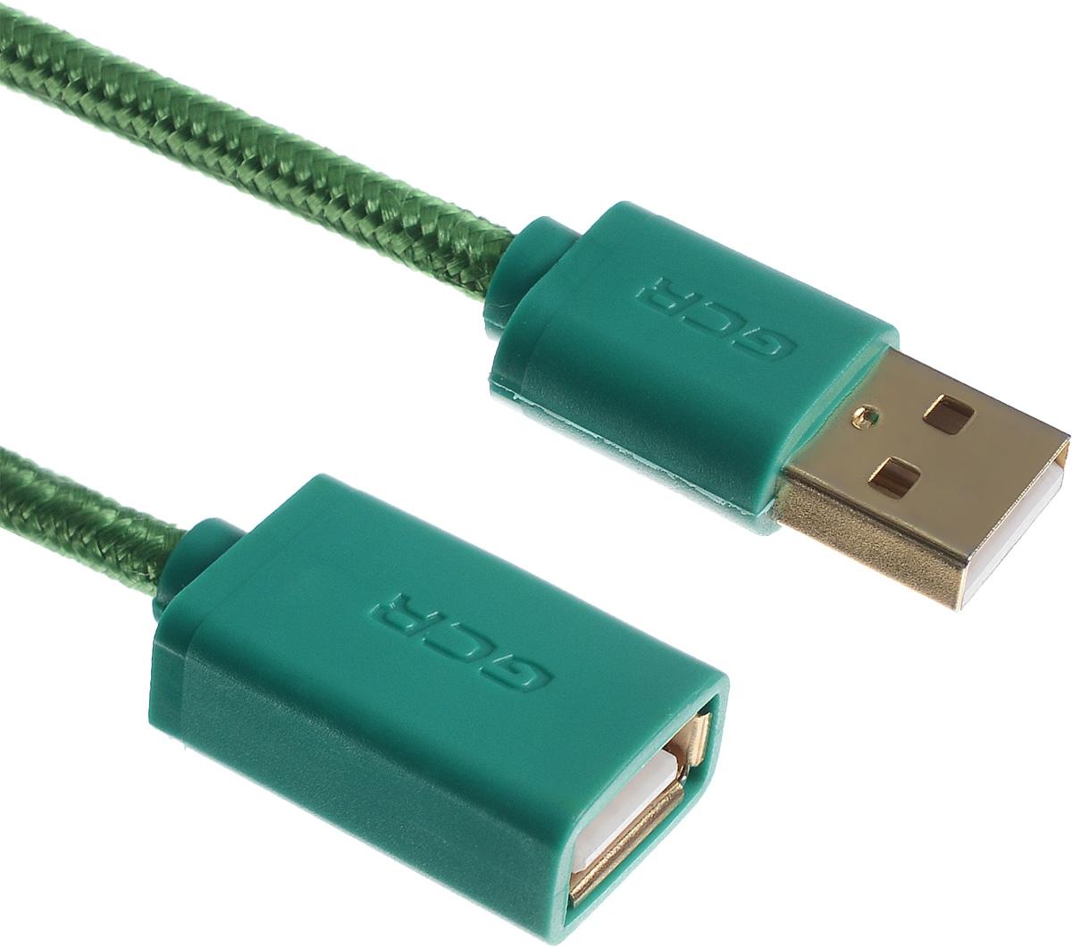 Greenconnect Russia GCR-UEC8M5-BB2SG, Green удлинитель USB 2.0 (0,75 м)GCR-UEC8M5-BB2SG-0.75mКабель-удлинитель USB 2.0 Greenconnect Russia GCR-UEC8M5-BB2SG позволит увеличить расстояние до подключаемого устройства. Может быть использован с различными USB девайсами. Экранирование кабеля защищает сигнал при передаче от влияния внешних полей, способных создать помехи.