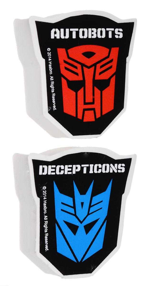Transformers Набор ластиков Prime 2 штTRBB-US1-213-H2Набор ластиков Transformers Prime идеально подойдет для применения как в школе, так и в офисе.Ластики не повреждают поверхность бумаги и даже при сильном трении не оставляют следов.Абсолютно безопасны, не токсичны и экологичны.В упаковке 2 ластика в форме героев из известного мультфильма Трансформеры.
