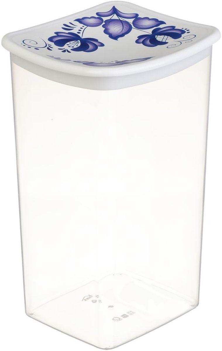 Емкость для сыпучих продуктов Idea Деко. Гжель, 1,9 лIM99-5201Емкость Idea Деко. Гжель выполнена из пищевого полипропилена и предназначена для хранениясыпучих продуктов. Не содержит Бисфенол A.Изделие оснащено плотно закрывающейся крышкой, благодаря которой продукты дольшеостаются свежими.