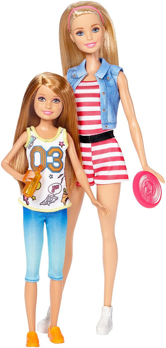 Barbie Набор кукол Барби и Стейси на свежем воздухе barbie кукла сестра барби морские приключения barbie fbd70