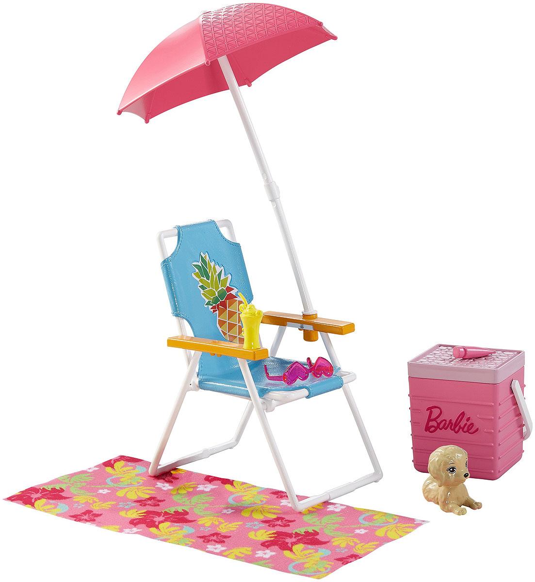 Barbie Мебель для кукол Отдых на природе Пикник аксессуары для кукол barbie barbie мини наборы для декора