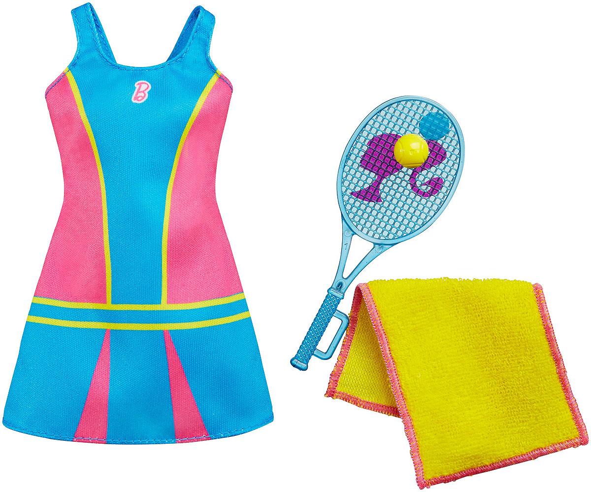 Barbie Одежда для куклы Теннисистка аксессуары для кукол barbie одежда весна