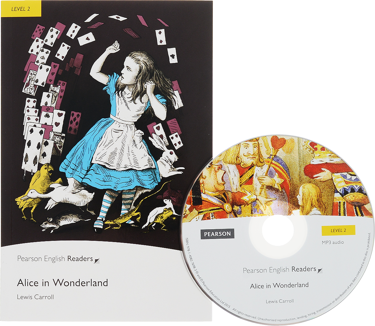 Alice in Wonderland: Level 2 ( + CD) каподастр alice a007d bk a