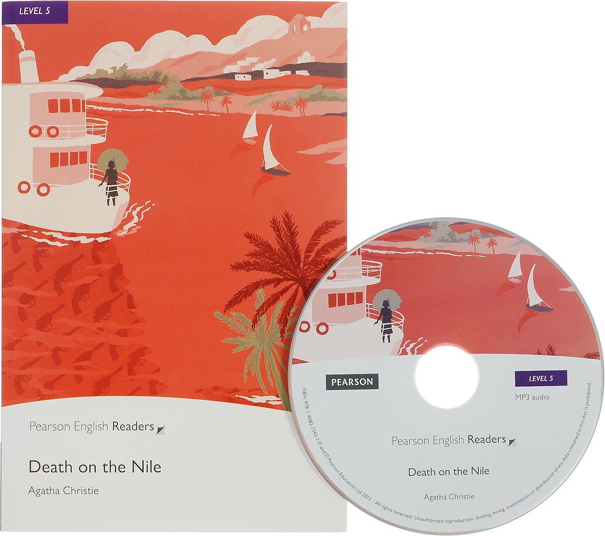 Death on the Nile: Level 5 (+ CD-ROM) girl on the boat