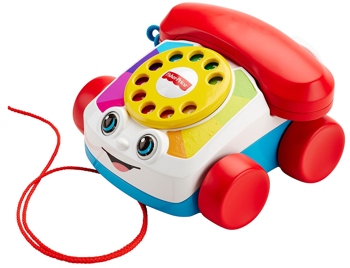 Fisher-Price Развивающая игрушка Говорящий телефон на колесах развивающая игрушка fisher price телефон на колесах