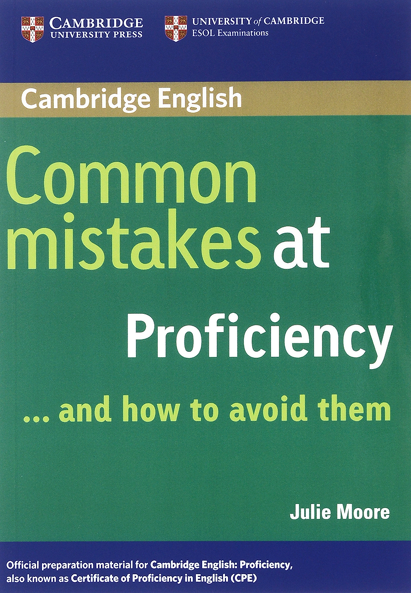 Common Mistakes at Proficiency... and How to Avoid Them common mistakes at pet and how to avoid them paperback with testbank