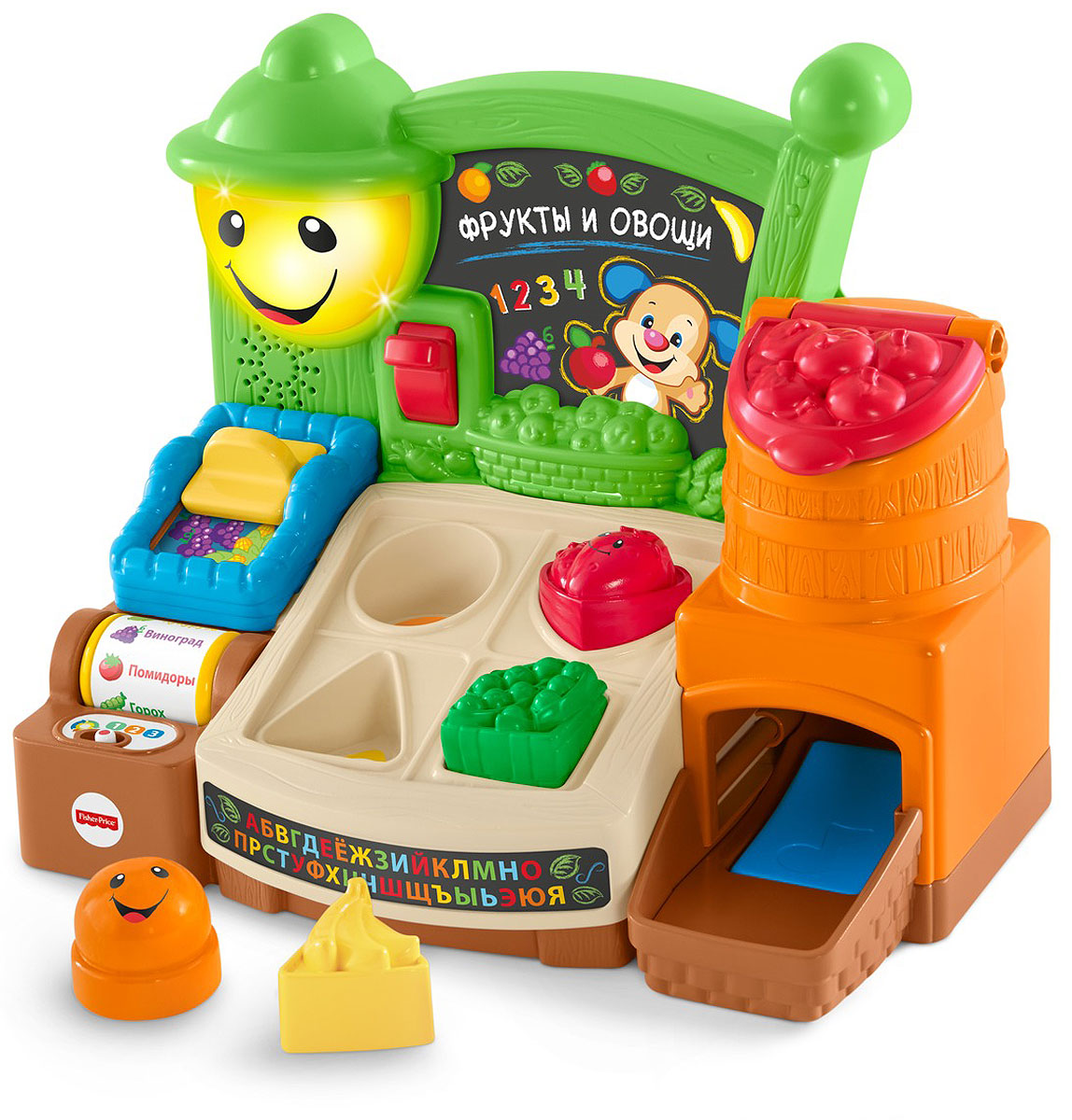 Fisher-Price Обучающий прилавок Веселые фрукты theodore gilliland fisher investments on utilities