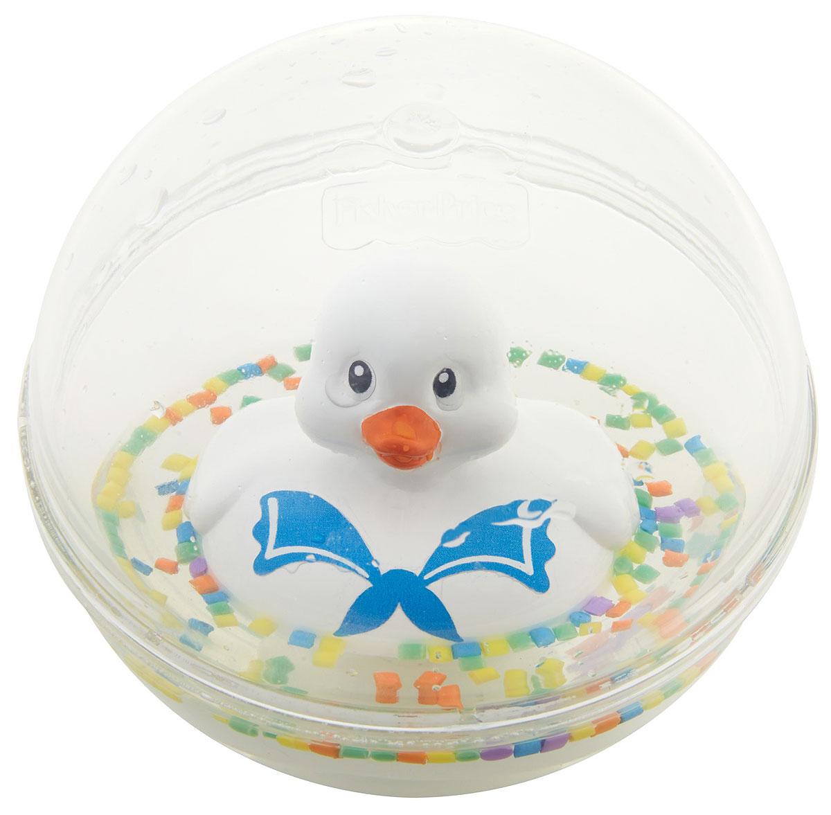 Fisher-Price Развивающая игрушка Уточка цвет белый