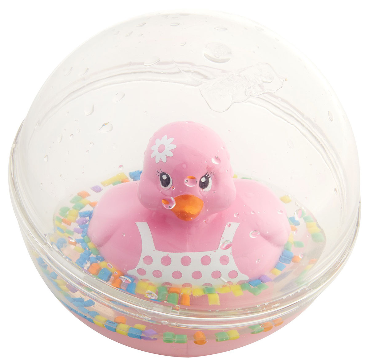 Fisher-Price Развивающая игрушка Уточка цвет розовый развивающая игрушка fisher price машинка с вращающимися кубиками в ассортименте