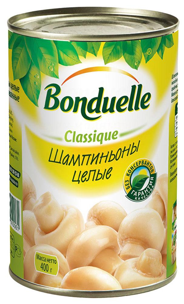 Bonduelle шампиньоны целые, 400 г икра bonduelle из кабачков 500мл