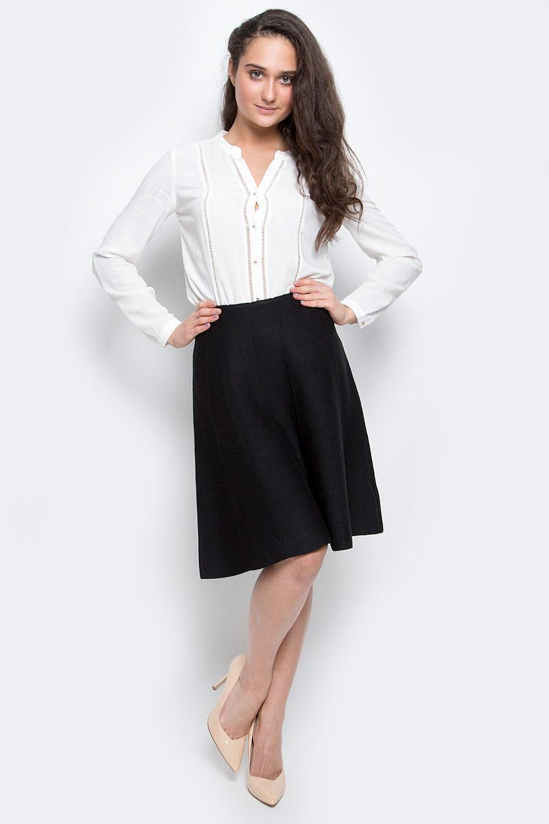 Купить Юбка Sela Casual, цвет: черный. SKsw-118/855-6445. Размер L (48)