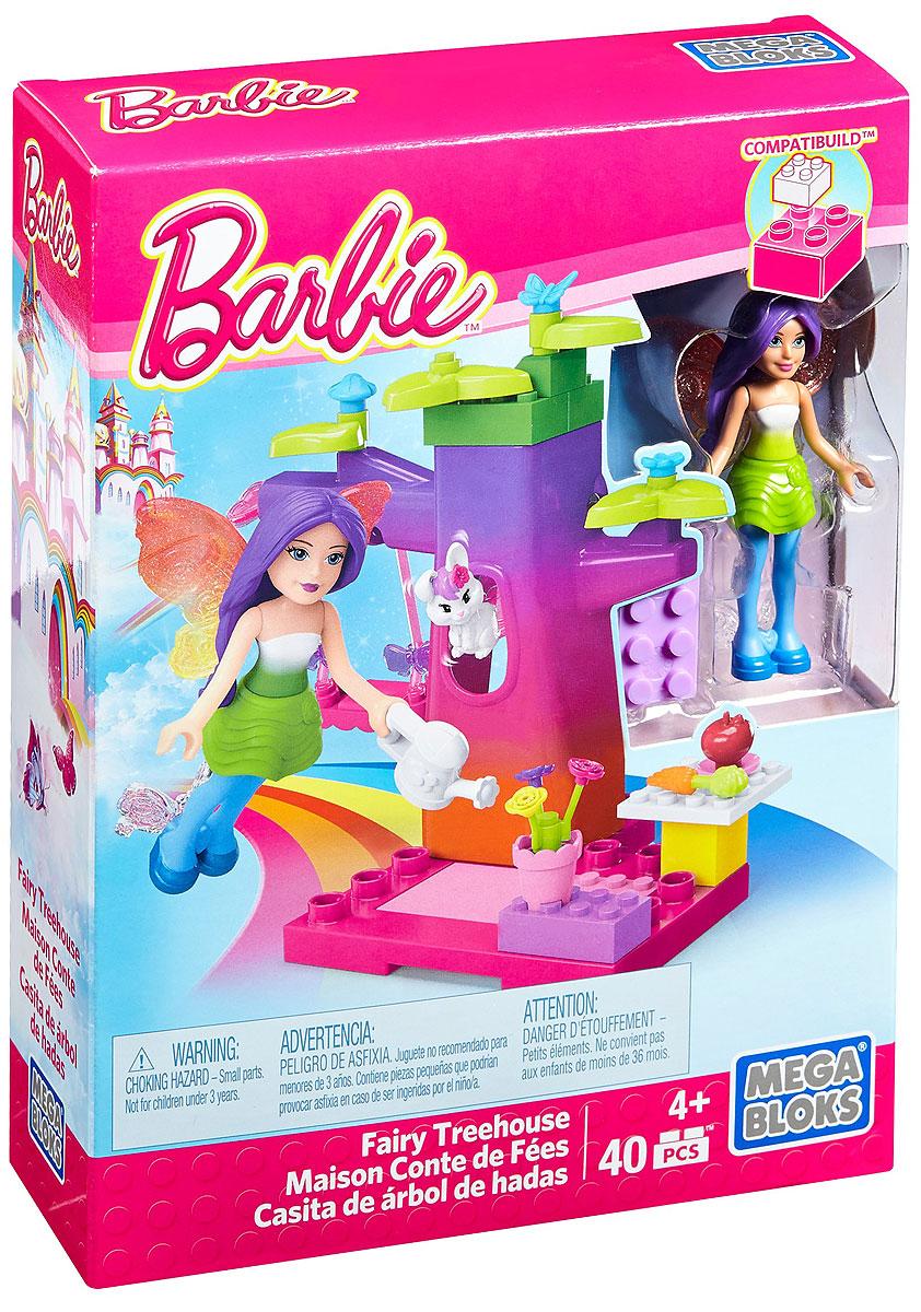Mega Bloks Barbie Конструктор Fairy Treehouse tatkraft mega lock