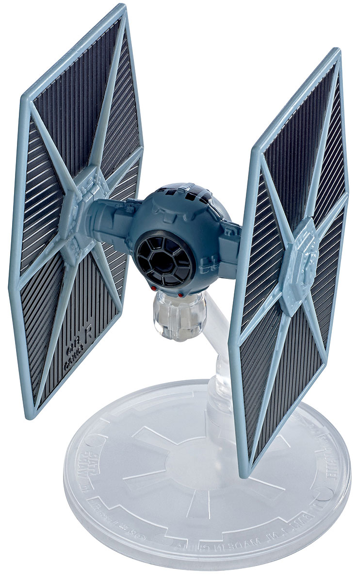 Hot Wheels Star Wars Космический корабль Blue TIE Fighter hot wheels star wars звездные корабли transporter vs x wing fighter