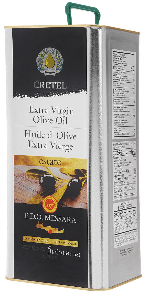 Cretel Extra Virgin масло оливковое P.D.O. Messara, 5 л16010Estate P.D.O. Messara (Protected designation of origin) — это уникальный объект авторского права, который закрепляет за производителем права гарантированный регион производства, несет на упаковке информацию о конкретном районе производства, в нашем случае, в районе Мессара, на острове Крит, Греция. Оливки были выращены, собраны и отжаты в масло полностью в определенном географическом регионе. Весь процесс изготовления этого масла, как говорилось выше, производится на месте сбора сырья. Маркировка дает гарантию потребителю, что масло не является ни в коем случае смесью масел. Один из главных показателей качества оливкового масла – кислотность, в оливковом масле CretelExtra Virgin она не превышает 0,6%.