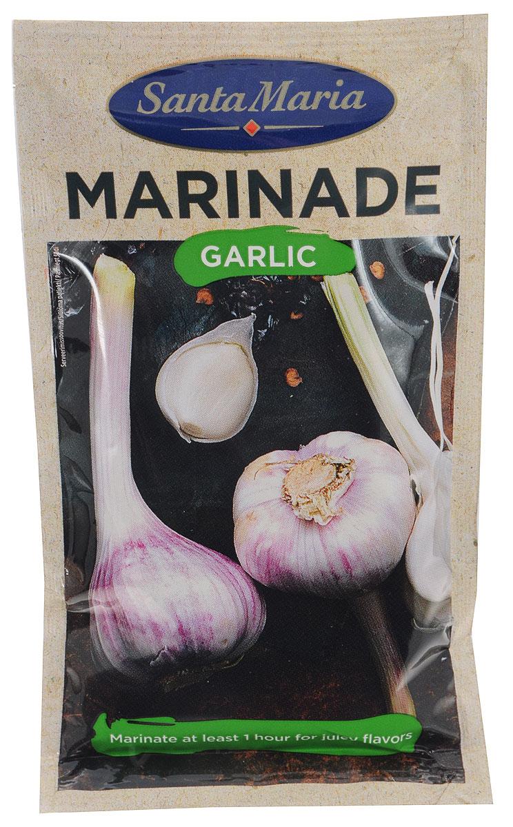 Santa Maria маринад с чесноком, 75 г17497Santa Maria BBQ Marinade Garlic - уникальный маринад с ароматом жареного чесночка и специй. Прекрасно смягчает мясо во время приготовления. Также маринад подходит к блюдам из рыбы, морепродуктов и овощей.Замаринуйте минимум на 30-40 минут (дичь на 4-6 часов) говядину или курицу, не убирая ее в холодильник. Запекайте маринованное мясо на овощах в духовке или приготовьте шашлык - результат всегда будет восхитительным! Уважаемые клиенты! Обращаем ваше внимание, что полный перечень состава продукта представлен на дополнительном изображении.