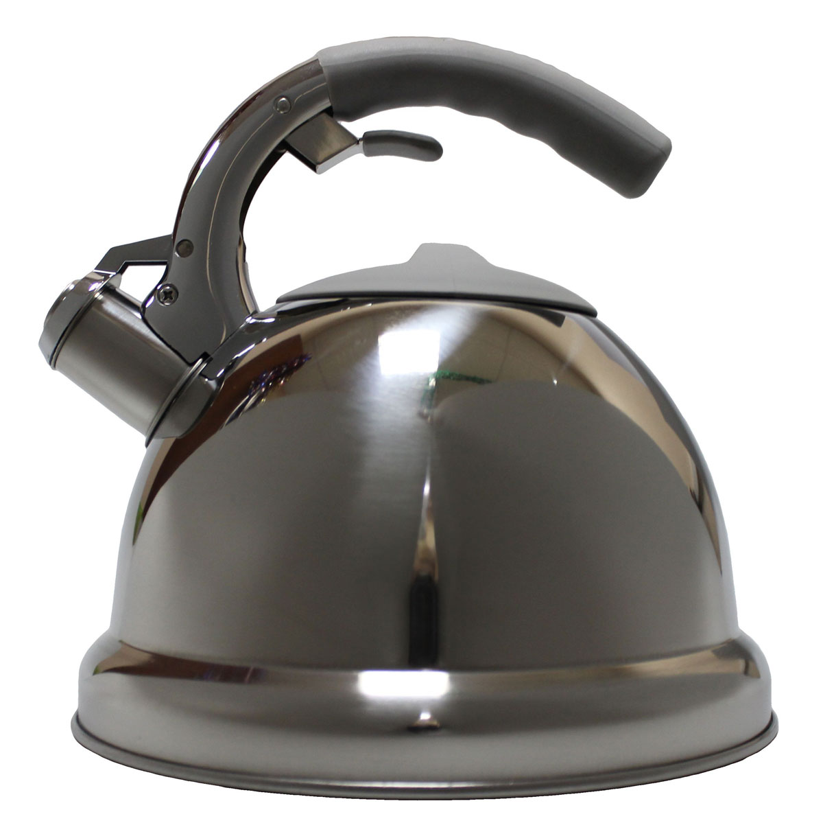 Чайник Vetta Вена, со свистком, 3 лL2520628Зеркальный чайник со свистком изготовлен из высококачественной нержавеющей стали.Нержавеющая сталь обладает высокой устойчивостью к коррозии, не вступает в реакцию с холодными и горячими продуктами и полностью сохраняет их вкусовые качества.Носик чайника имеет откидной свисток, звуковой сигнал которого подскажет, когда закипит вода.Подходит для всех типов плит, включая индукционные.