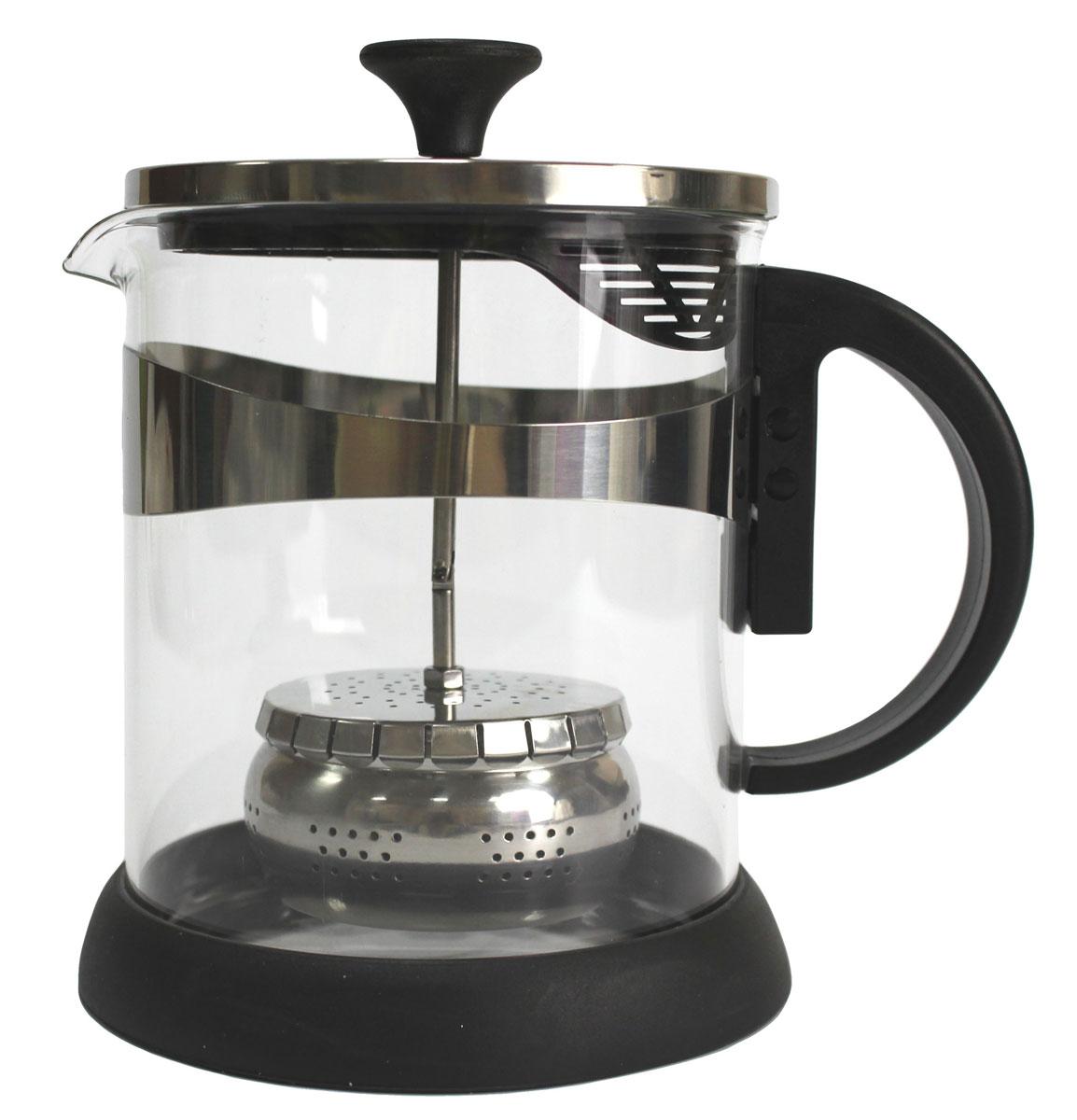 Чайник заварочный Vetta, 1,2 л850131Заварочный чайник Vetta, изготовленный из термостойкого стекла и полипропилена, предоставит вам все необходимые возможности для успешного заваривания чая. Чай в таком чайнике дольше остается горячим, а полезные и ароматические вещества полностью сохраняются в напитке. Чайник оснащен фильтром, который выполнен из нержавеющей стали.Простой и удобный чайник поможет вам приготовить крепкий, ароматный чай.
