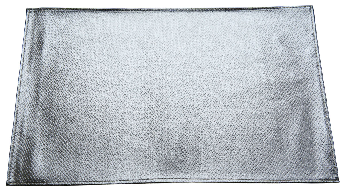 Набор сервировочных салфеток GiftnHome Кожа Серебро, 30 х 45 см, 2 штСТ(серебро)Сервировочные салфетки GiftnHome Кожа Серебро используются для сервировки стола и для интерьерных решений, они защищают поверхности от следов пищи, влаги и горячей посуды - это предметы создающие настроение. Авторские дизайны от Креативной студии AntonioK - сделают вашу сервировку яркой и стильной.