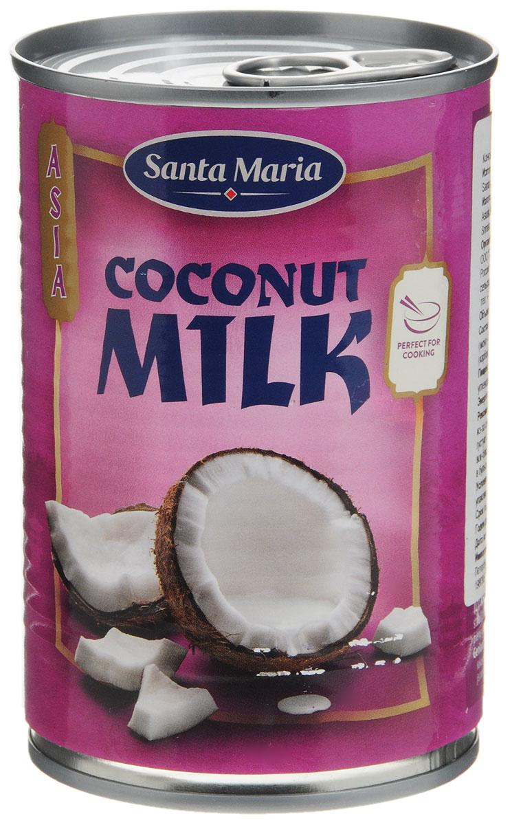 Santa Maria Кокосовое молоко, 400 мл паста hom d для супа том кха 400 г